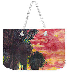 Phoenix Sunset Weekender Tote Bag by Eric Samuelson