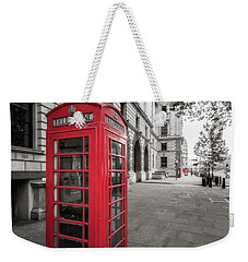 Phone Booths In London Weekender Tote Bag