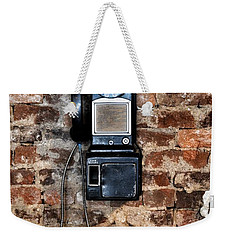 Pay Phone  Weekender Tote Bag
