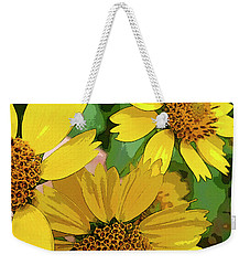 Yellow Wildflowers Photograph II Weekender Tote Bag