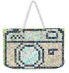 Photo Camera Weekender Tote Bag