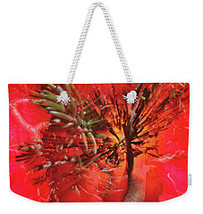 Weekender Tote Bag featuring the photograph Photo Sin Thesis by Susan Capuano