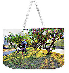 Weekender Tote Bag featuring the photograph Photographer by Brian Wallace