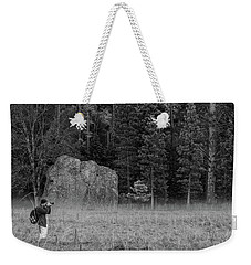 Photographer In The Valley Weekender Tote Bag