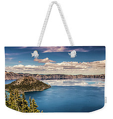 Crater Lake Weekender Tote Bag