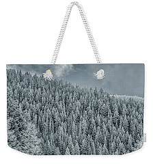 Winter Pines Weekender Tote Bag