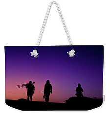 Photographers At Sunset Weekender Tote Bag