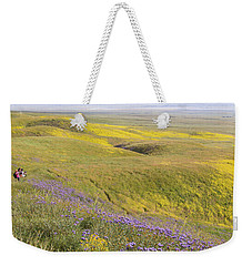Weekender Tote Bag featuring the photograph Photographing Carrizo by Marc Crumpler