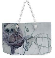 Physical Integrity Beneath Weekender Tote Bag