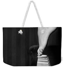 Weekender Tote Bag featuring the photograph Piano by Andrey  Godyaykin