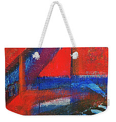 Piano In The Red Room Weekender Tote Bag