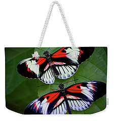 Piano Key Butterfly's Weekender Tote Bag