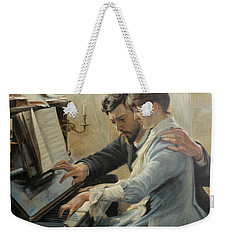 Piano Lesson Weekender Tote Bag