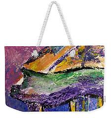 Piano Purple - Cropped Weekender Tote Bag