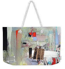 Weekender Tote Bag featuring the painting Piano Room by John Jr Gholson