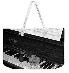 Piano Rose Weekender Tote Bag