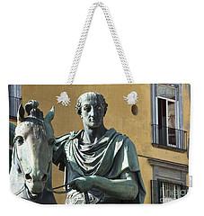 Piazza Del Plebiscito Weekender Tote Bag