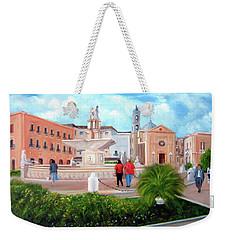 Piazza Mola Di Bari Weekender Tote Bag