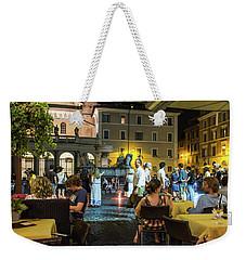 Piazza Weekender Tote Bag
