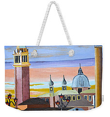 Piazza San Marco Weekender Tote Bag by Donna Blossom