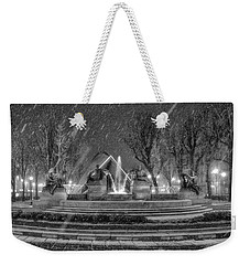 Piazza Solferino In Winter-1 Weekender Tote Bag