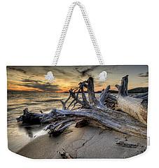 Pic Driftwood Weekender Tote Bag