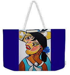 Yellow Hat Picasso Weekender Tote Bag
