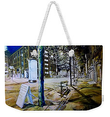 Piccadilly Gardens, Manchester Weekender Tote Bag