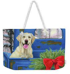 Pick-en Up The Christmas Tree Weekender Tote Bag
