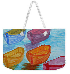 Pick Your Boat Weekender Tote Bag