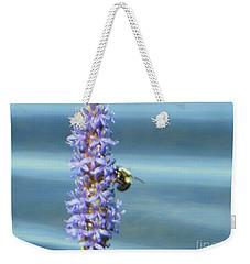 Pickerelweed Bumble Bee Weekender Tote Bag