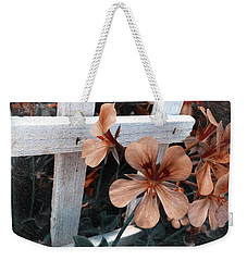 Picket Fence Blooms Weekender Tote Bag