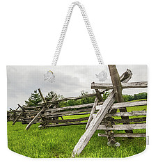 Picket Fence Weekender Tote Bag