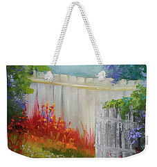 Picket Fences Weekender Tote Bag