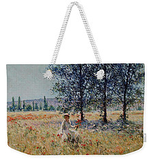 Picking Flowers  Weekender Tote Bag