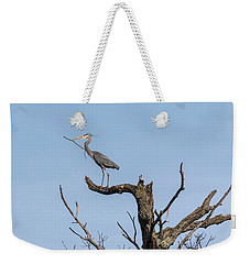 Picking Sticks Weekender Tote Bag by Thomas Young