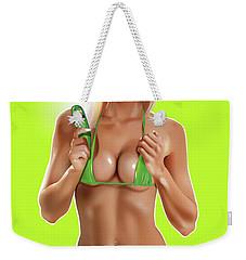Pickle Weekender Tote Bag