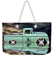 Pickup Reflections Weekender Tote Bag
