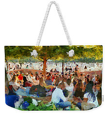 Picnic In The Park Weekender Tote Bag