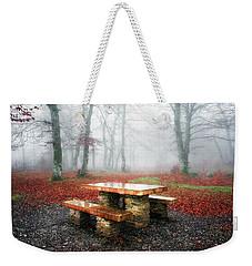 Picnic Of Fog Weekender Tote Bag