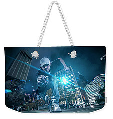 Weekender Tote Bag featuring the photograph Pics By Nick by Nicholas Grunas