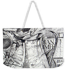 Picture Of Pitcher Weekender Tote Bag