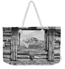 Weekender Tote Bag featuring the photograph Picture Window #2 by Eric Glaser