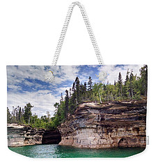 Pictured Rocks Weekender Tote Bag