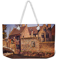 Weekender Tote Bag featuring the photograph Picturesque Bruges  by Carol Japp