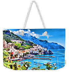 Picturesque Italy Series - Amalfi Weekender Tote Bag