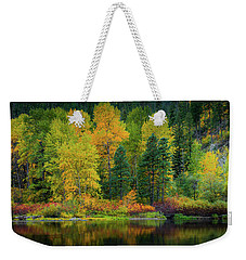 Picturesque Tumwater Canyon Weekender Tote Bag