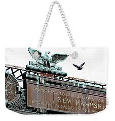 Pidgeon Intrusion Weekender Tote Bag