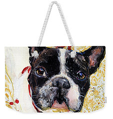 Pie And I Weekender Tote Bag by Molly Poole