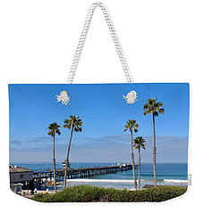 Pier And Palms Weekender Tote Bag